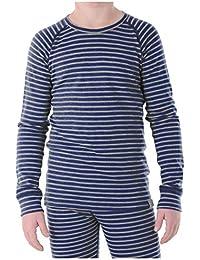 Kids Unisex Long Sleeve Thermal Lightweight Merino Wool Base Layer Top