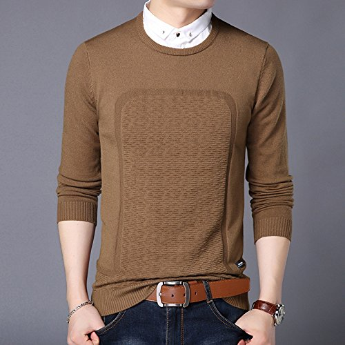 Jdfosvm männer - Pullover männer Pullover Winter Mode männer Pullover unterstützung,Kaffee - Farbe,hundert und 85