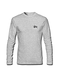 Boys Girls Long Sleeves T-shirts Tops For Stussy