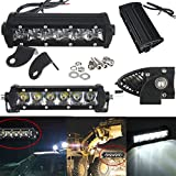 New 7.5Inch 30W Cree Led Driving Spot Work Light Bar Offroad 4WD SUV Bar by Bcn