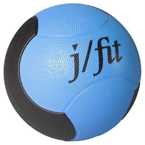 J Fit 6LB Premium gummiert Medicine Ball by Jfit