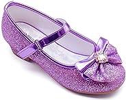 Furdeour Girl's Toddler/Little Kid/Big Kid Mary Jane Ballerina Heeled S