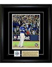 Frameworth 69-459 Jose Bautista 8x10-Inch Pin and Plate Frame-Bat Flip Toronto Blue Jays