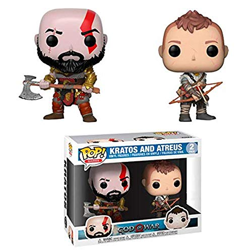 Funko God of War (2018) - Kratos & Atreus Pop! Vinyl, 2 P
