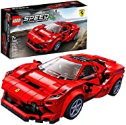 LEGO Speed Champions 76895 Ferrari F8 Tributo Toy Cars for Kids, Building Kit Featuring Minifigure, New 2020 (