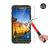 Galaxy S7 Active Tempered Glass Screen Protector [Not Fit For Galaxy S7)],Mashiro Bubble-free Anti-Scratch 9H Premium Tempered Glass HD Ultra Clear Film Screen Protector for Galaxy S7 Active (3 Pack)