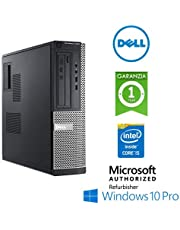 Simpaticotech PC Desktop Optiplex 3010 Intel i5-3470 3.2GHz 8Gb 240Gb SSD DVDRW Windows 10 Professional con con Licenza Simpaticotech MAR Microsoft Authorized Refurbisher (Ricondizionato Certificato)