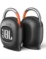 TUSITA [Ingebouwde Magneet] Siliconen Hoesje Compatibel met JBL Clip 4 - Stand Up Magnetische Beschermhoes Full Body Beschermende Cover - Golf Bluetooth Speaker Accessoires