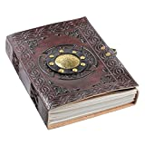 Creoly 'Spell Bound' Embossed Leather Journal (Diary, Notebook)