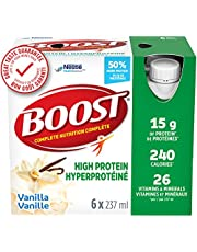 BOOST High Protein Meal Replacement Drink, Vanilla, 24 x 237 ml