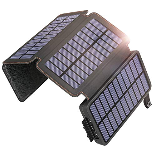 SOARAISE Solar Charger 25000mAh