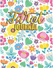 Tarot Journal: Large Workbook Spiritual Log Book Oracle Card Tracker Notebook For Cards Reading Journaling and Tracking 3 card draw, question, meaning, notes - awaken your intuition & psychic power