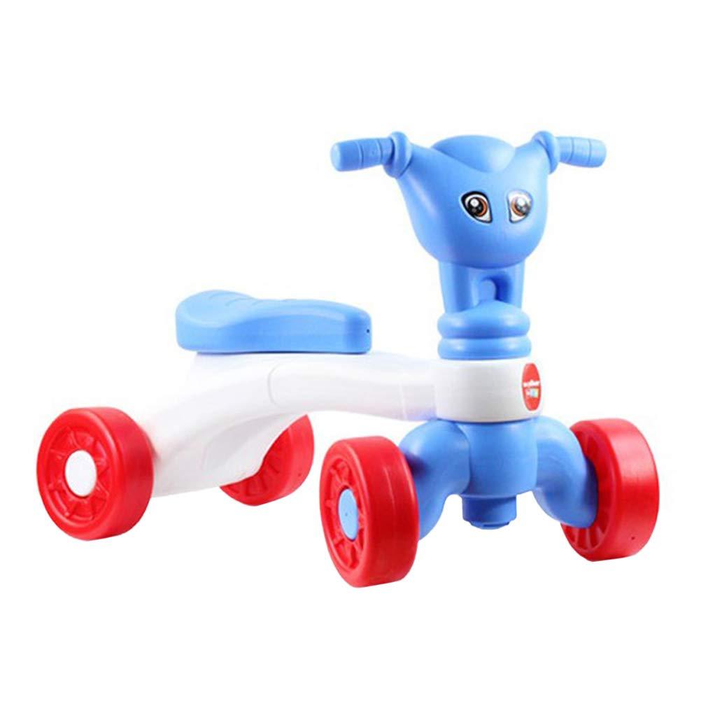 YeahiBaby Bicicleta sin Pedales Bebé Juguetes Bebes 1 año 10- 24 Meses Regalo Elección (Azul)