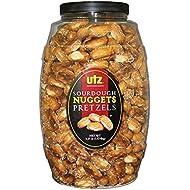 Utz Sourdough Nuggets Pretzels Barrel, 52 Ounce