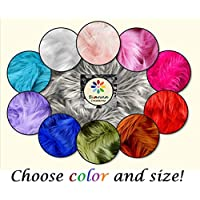 Bianna Creations Faux Fur Fabric Piece - Choose color and Size! For Craft, Fursuit Fabric Fake Fur - More than 35 colors to pick from!