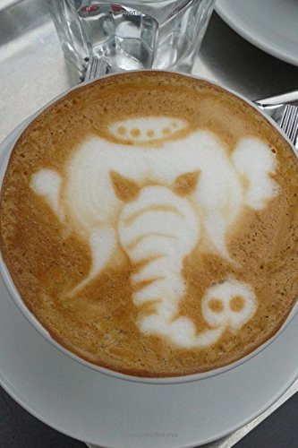 Read Online An Elephant in Your Coffee Barista Art Journal: 150 Page Lined Notebook/Diary pdf epub