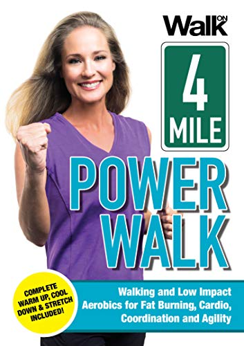Walk On: 4-Mile Power Walk with Jessica Smith - Indoor Walking and Low Impact Aerobics for Fat Burning, Cardio, Coordination, and Agility [DVD] ()