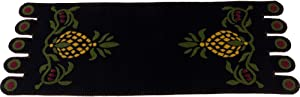 Home Collections by Raghu Sweet Home Pineapple Table Runner