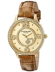 Stuhrling Original Women's 760.04 Symphony Beige Watch