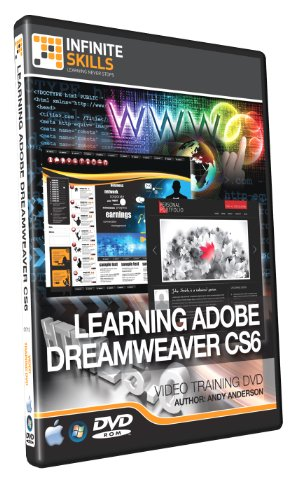 Price comparison product image Learning Adobe Dreamweaver CS6 - Training DVD - Video
