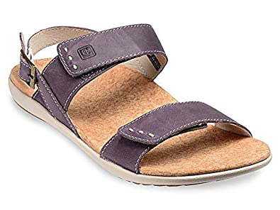 Spenco Alex Womens Strap Orthotic Sandals Purple - 6