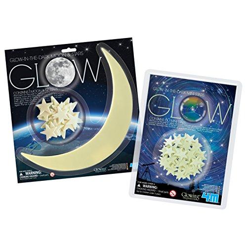 4M Glow Dark Stars Moon