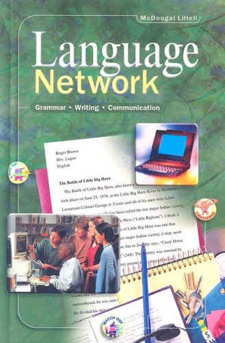 Language Network: Student Edition Grade 8 2001 by MCDOUGAL LITTEL