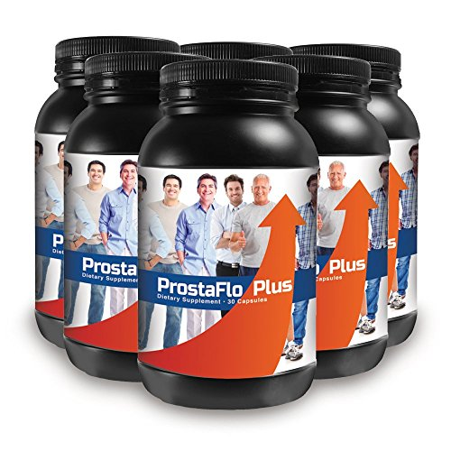 ProstaFlo Plus - Dietary Supplement - 6 Bottle Supply - This Small Wonder Eases Prostate Symptoms Faster and Better Than Any Other Prostate Formula by Best Life Herbals
