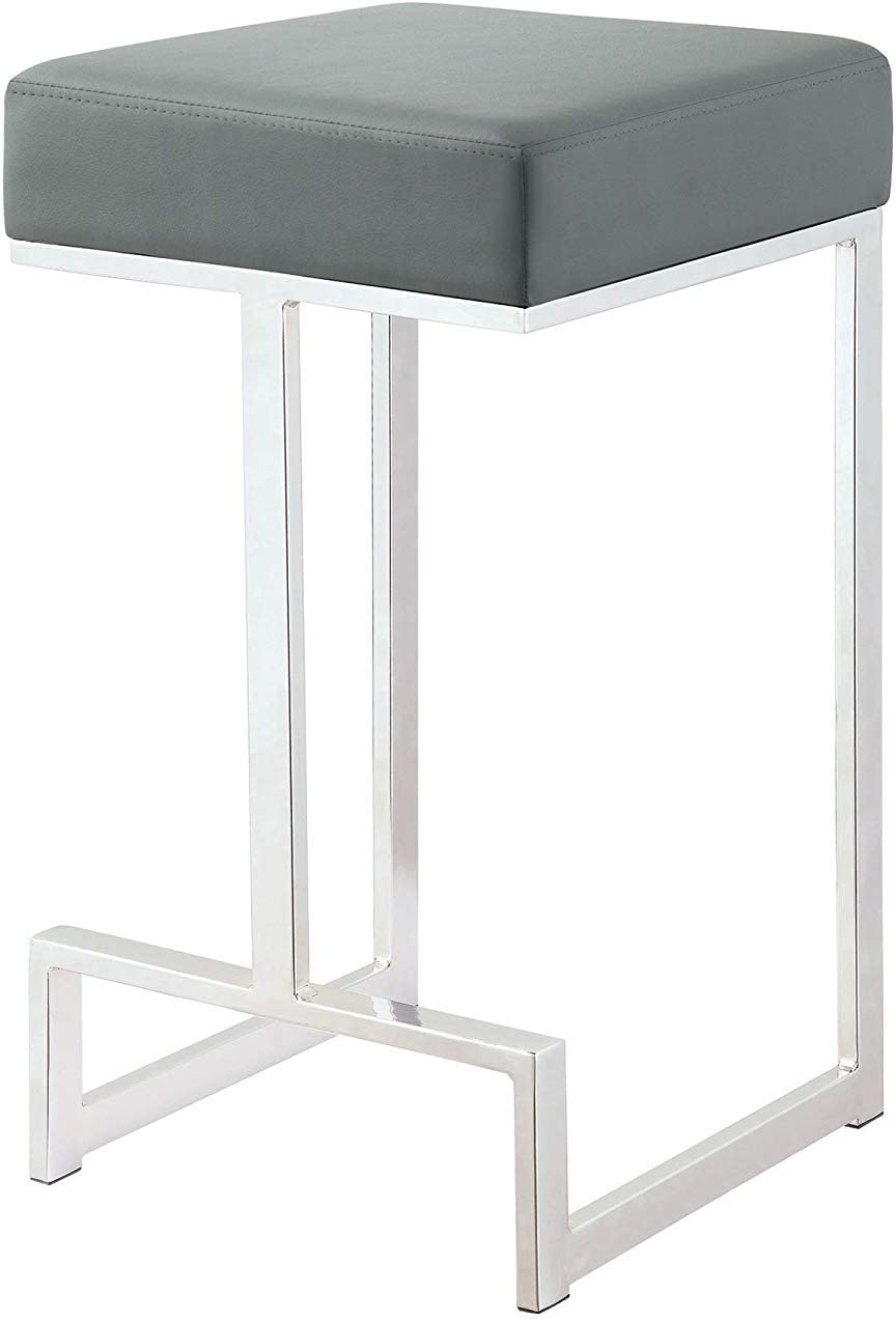 Coaster 105252-CO 24 Counter Stool, In Gray