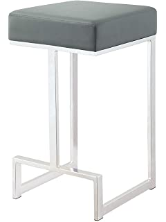 Amazon.com: Nathan James 22101 Nelson Bar Stool with Leather ...