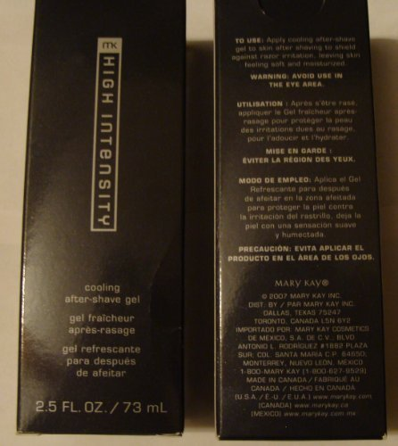 High Intensity Cooling - Mary Kay MK High Intensity Cooling After-Shave Gel