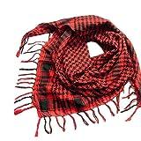 Gift for Friends, Egmy 1PC Unisex Women Men Arab Shemagh Keffiyeh Palestine Scarf Shawl Wrap