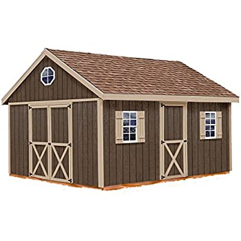 Amazon Com Best Barns Easton 12 Ft X 16 Ft Wood Shed