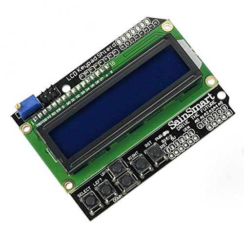 SainSmart LCD 1602 Keypad Shield for Arduino Due UNO R3 Mega2560 R3  Duemilanove