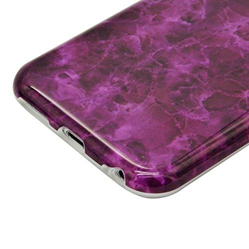 Funda para iPhone 6 Sunroyal Premium Mármol Patrón Suave TPU Carcasa Protector Bumper Tapa Flexible Silicona Gel Ultra Delgado Case Cover Parachoques Cubierta Caja del Teléfono para iPhone 6s / 6 4.7 A-05
