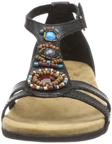 Minnetonka Bayshore - Zapatos para mujer Negro (Schwarz (Black))