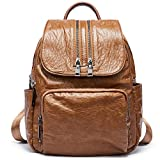 Backpacks Purse for Women PU Leather Fashion Shoulder Bag Ladies Large Travel Bag