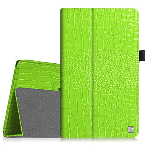 Fintie Folio Case for Fire HD 8 (2015 Model 5th Gen Only) - Slim Fit Premium Vegan Leather Standing Cover Auto On/Off for Amazon Fire 8