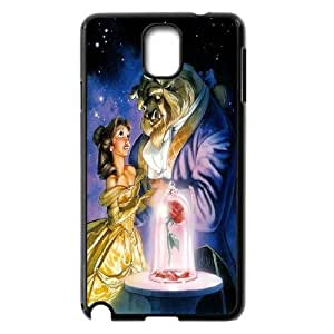 [AinsleyRomo Phone Case] For Samsung Galaxy NOTE3 Case Cover -Beauty and The Beast-Style 7