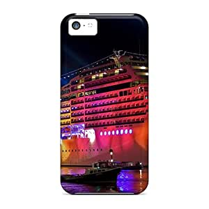 Awesome Msc Magnifica Flip Case With Fashion Design For Iphone 5c