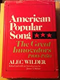 img - for American Popular Song: The Great Innovators 1900 1950 book / textbook / text book