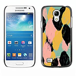 For SAMSUNG Galaxy S4 mini VERSION! / i9190 / i9192 Case , Watercolor Animal Pattern Spots - Diseño Patrón Teléfono Caso Cubierta Case Bumper Duro Protección Case Cover Funda