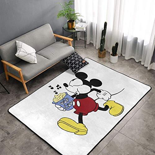 KSHGZHHappy Mickey Mouse Soft Comfy Area Rugs Non Slip Floor Carpet Living Room Kindergarten Rug 60x39 Inch