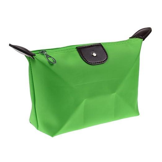 6 opinioni per Ducomi® Pochette Trucchi da Borsa in Nylon Impermeabile- 18 x 12 x 7 cm (Green)