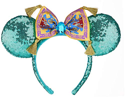 Disney Parks Aladdin Magic Carpet Minnie Mouse Ears Headband -