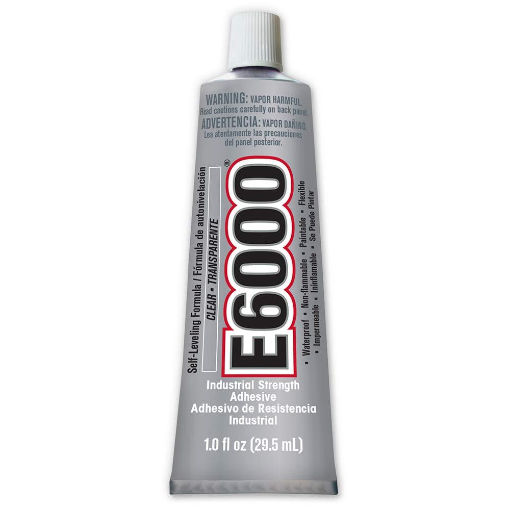E6000 231012 Medium Viscosity Adhesive, 1.0 fl oz