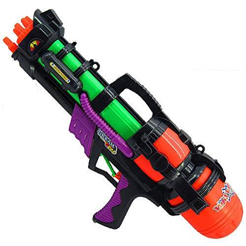 TOIY Summer Water Gun Children's Water Gun Toy Backpack Water Gun Beach Toy Play Water Gun Summer Hot Toy Water Gun ( Color : Green , Size : L )