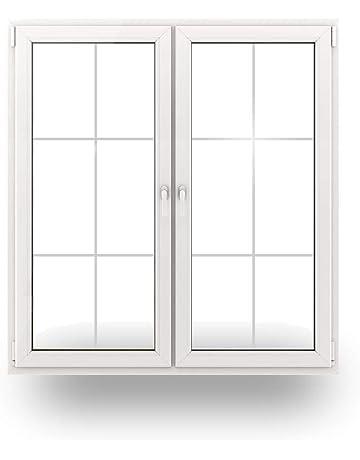 wei/ß Kunststoff BxH: 110 x 200 cm//1100 x 2000 mm Balkont/ür DIN links T/ür 3 Fachverglasung