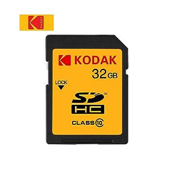 Festnight Tarjeta SD Kodak U1 de Alta Velocidad 85 MB/s ...