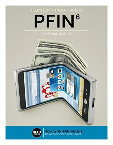 PFIN (with PFIN Online, 1 term (6 months) Printed Access Card) (New, Engaging Titles from 4LTR Press) by Cengage Learning